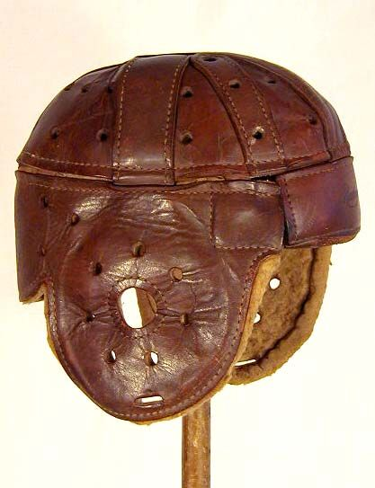 81485ad59 Baseball No Hitter. Vintage Football Helmets - Antique Football Helmets  were made of leather. Can you imagine??