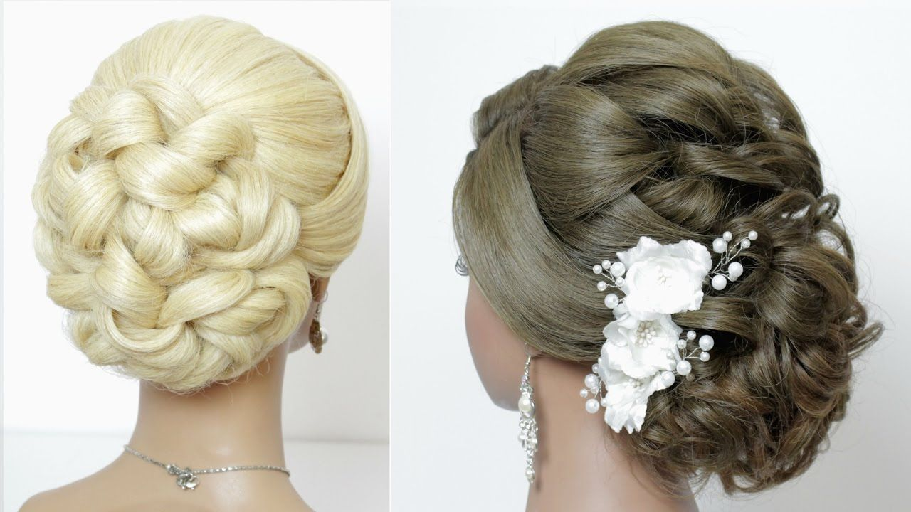 I like the first one, looks like a classic updo, but with knots ...
