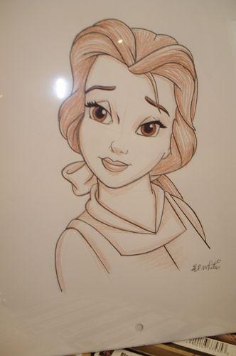 Disney Princess Drawings Lukisan Disney Gambar Lucu Gambar