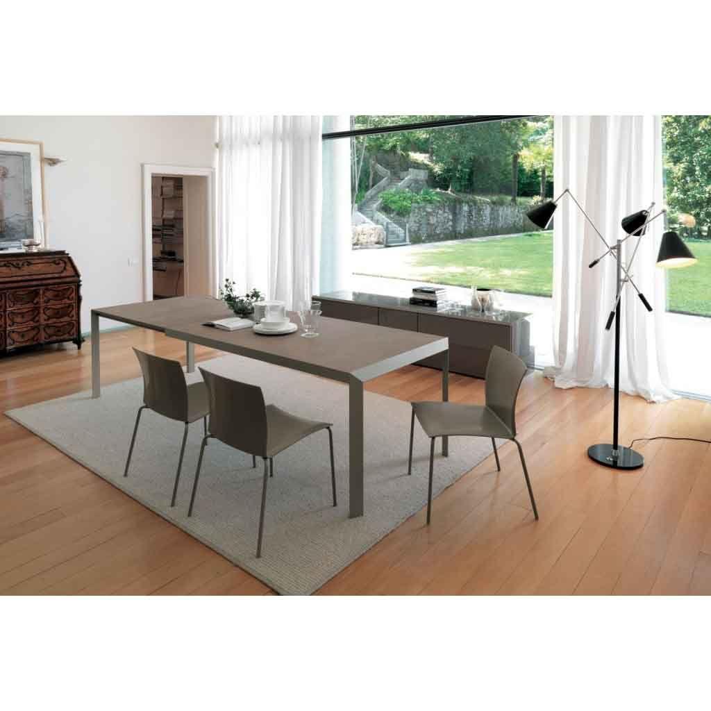 Tavolo rettangolare allungabile da 142 Bontempi Casa Izac ...