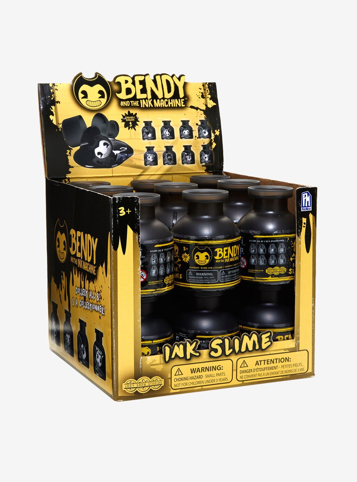 Bendy And The Ink Machine Ink Slime Contains Slime And 1 Toy