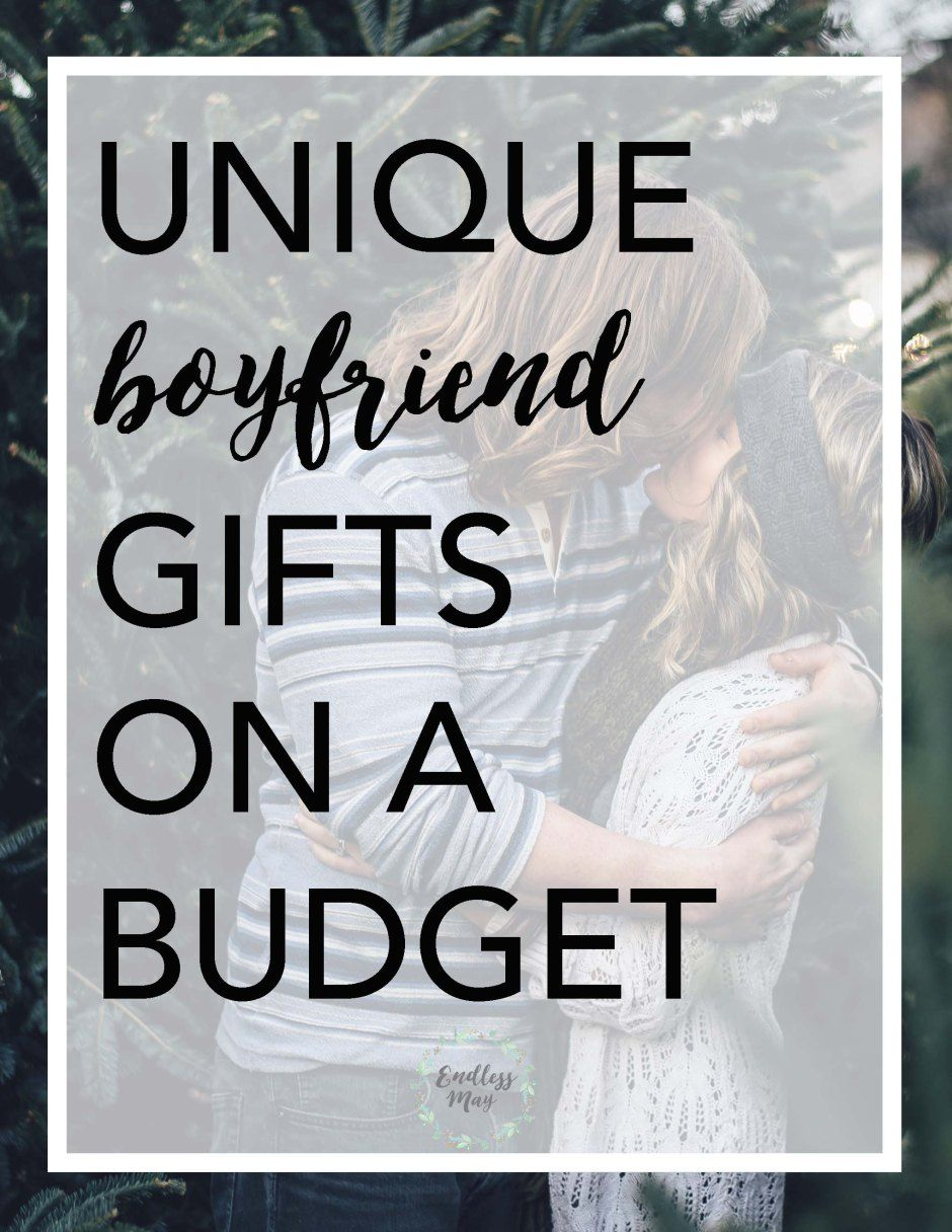 Unique Christmas Gifts for your Boyfriend on a Budget | Unique gifts ...
