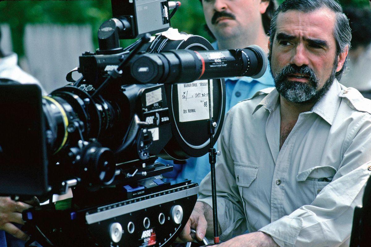 "Martin Scorsese on the set of ""Goodfellas."""