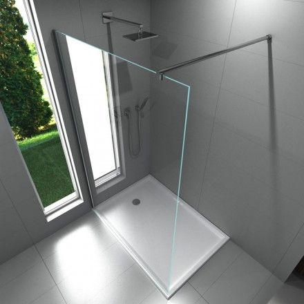 paroi fixe water 140 cm paroi de douche fixe finition. Black Bedroom Furniture Sets. Home Design Ideas