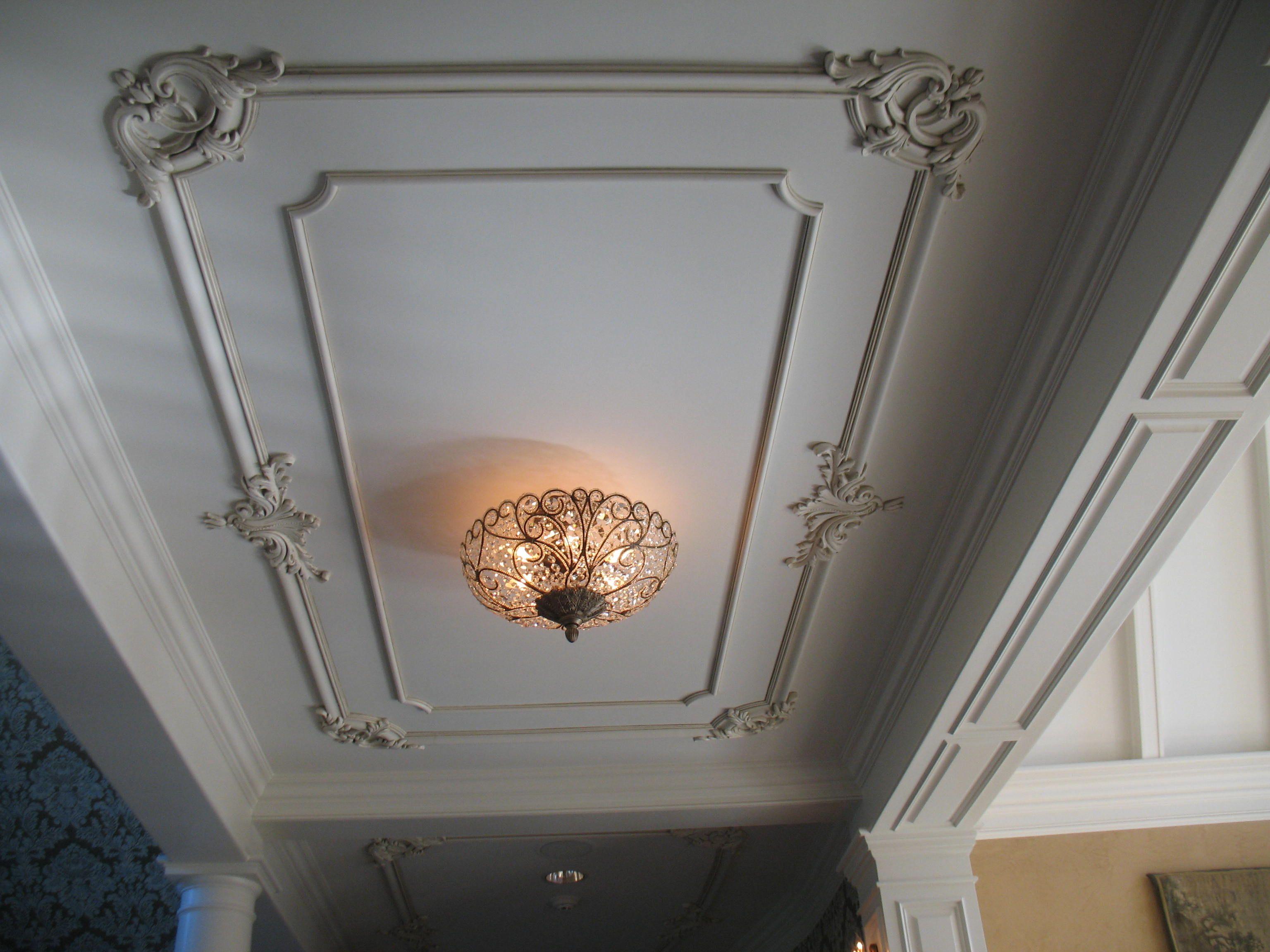 Plaster Period Ceiling-Felber Ornamental | House ceiling ...