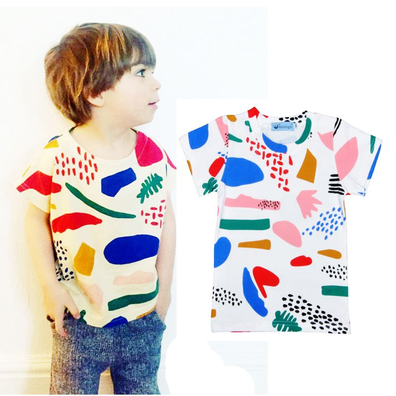 Toddler Baby Kid Boy Girl Cartoon Dinosaur//Letter Print Short Sleeve T-shirt Top