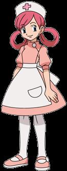 Nurse Joy Bulbapedia The Community Driven Pokemon Encyclopedia Pokemon Black Pokemon Cute Characters