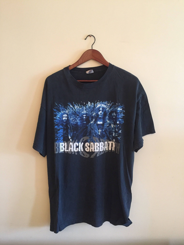 Black sabbath t shirt etsy - Vintage Black Sabbath T Shirt