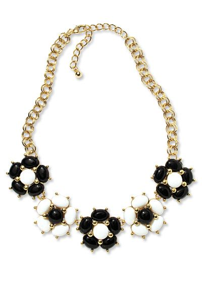 Shop 17 Black-and-White Pieces - Humble Chic NY Necklace from #InStyle