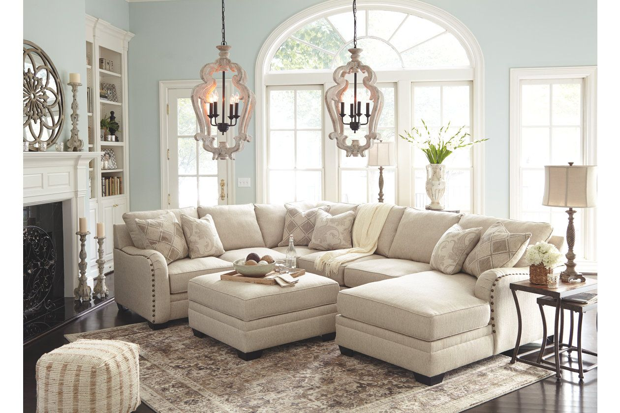 Luxora 4 Piece Sectional Ashley Furniture Homestore Sectional