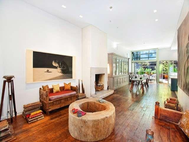 Cucina e soggiorno open space - Open space stile etnico | Pinterest