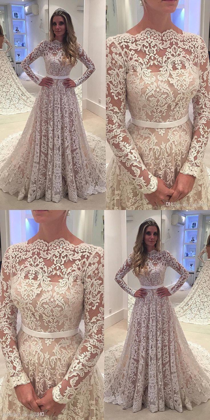 vestidos longos de renda maravilhosos lindo vestidos d novia