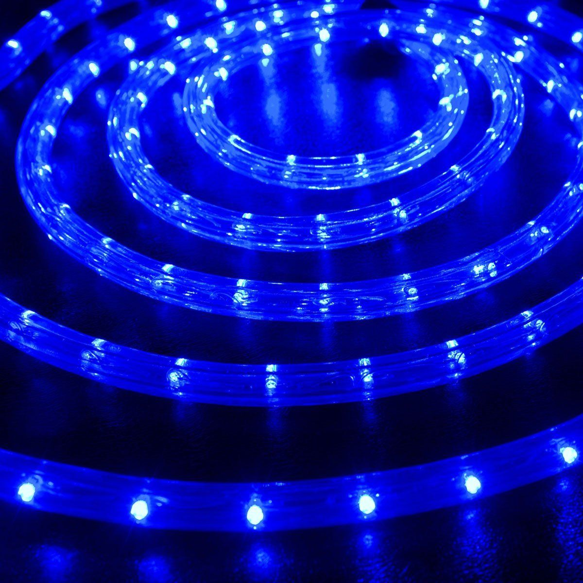 50 Blue 1 2 Led Rope Lights Led Rope Rope Lights