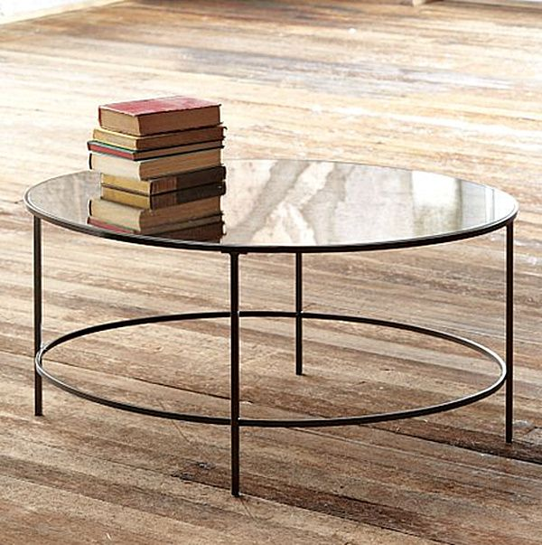 Superior Foxed Mirrored Coffee Table From West Elm. Looking At This As A Replacement  To My Old Parsons Coffee Table.