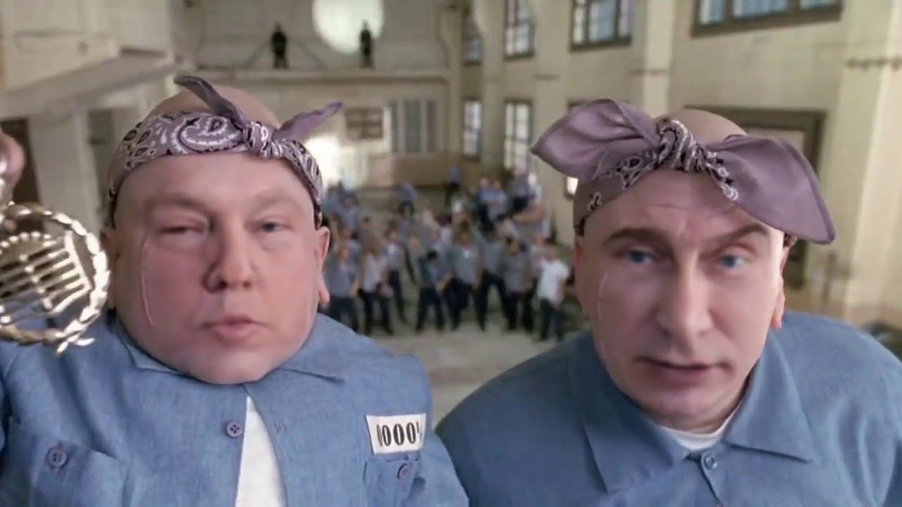 Trump And Putin As Mini Me And Dr Evil Hard Knock Life Silly Memes Kids Laughing Mini Me
