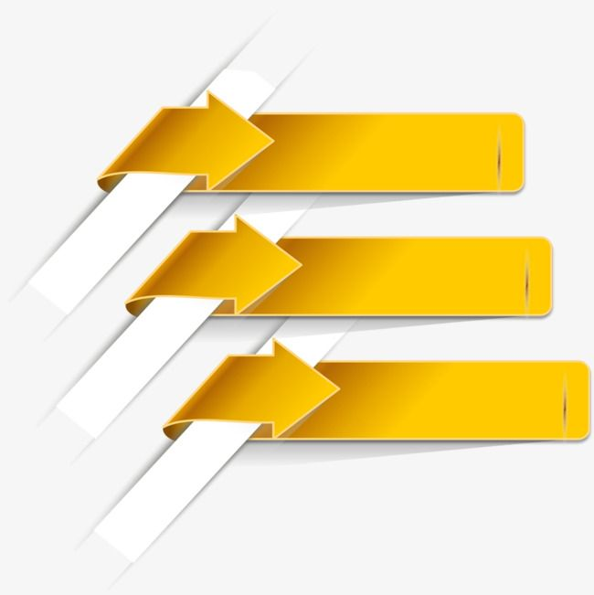 Yellow Arrow Label Poster Background Design Powerpoint Background Design Creative Poster Design