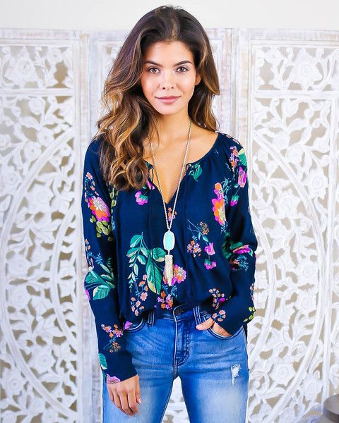 9c134ffa542db7 Ava Long Sleeve Blouse | Spring / Summer Style inspiration in 2019 ...