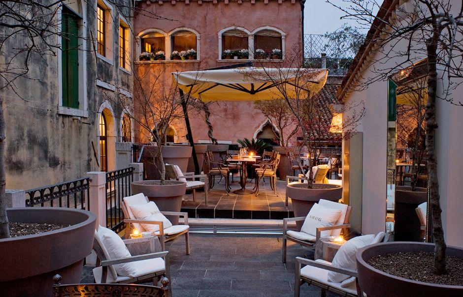 Krug Terrace. PalazzinaG, Venice, Italy. © Palazzina G   Dolce Vita ...