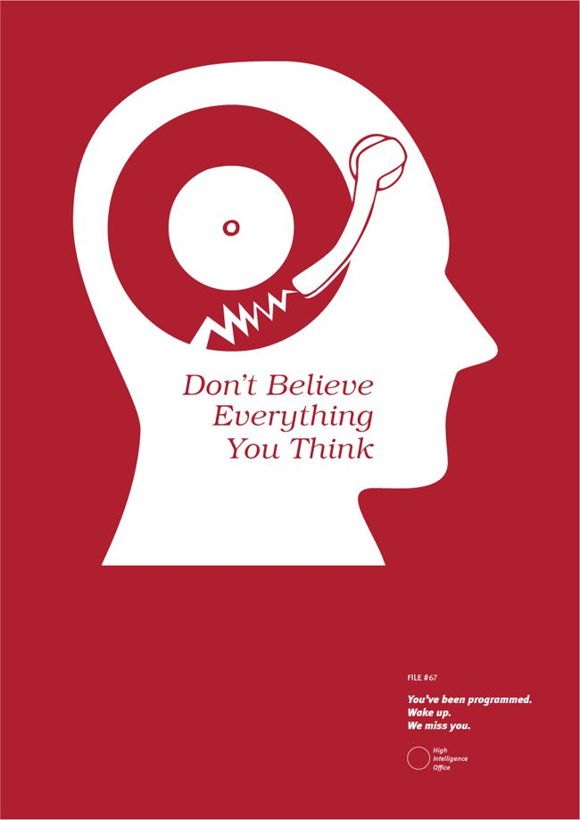 The High Intelligence Office S Meaningful Posters And Truthful Tees Thinking Of You Words Believe