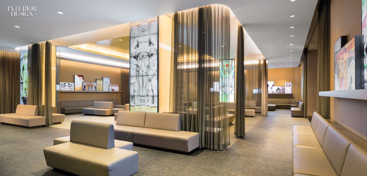 Nbc studios 2015 boy winner for office lobby lobbies for Office lobby interior design