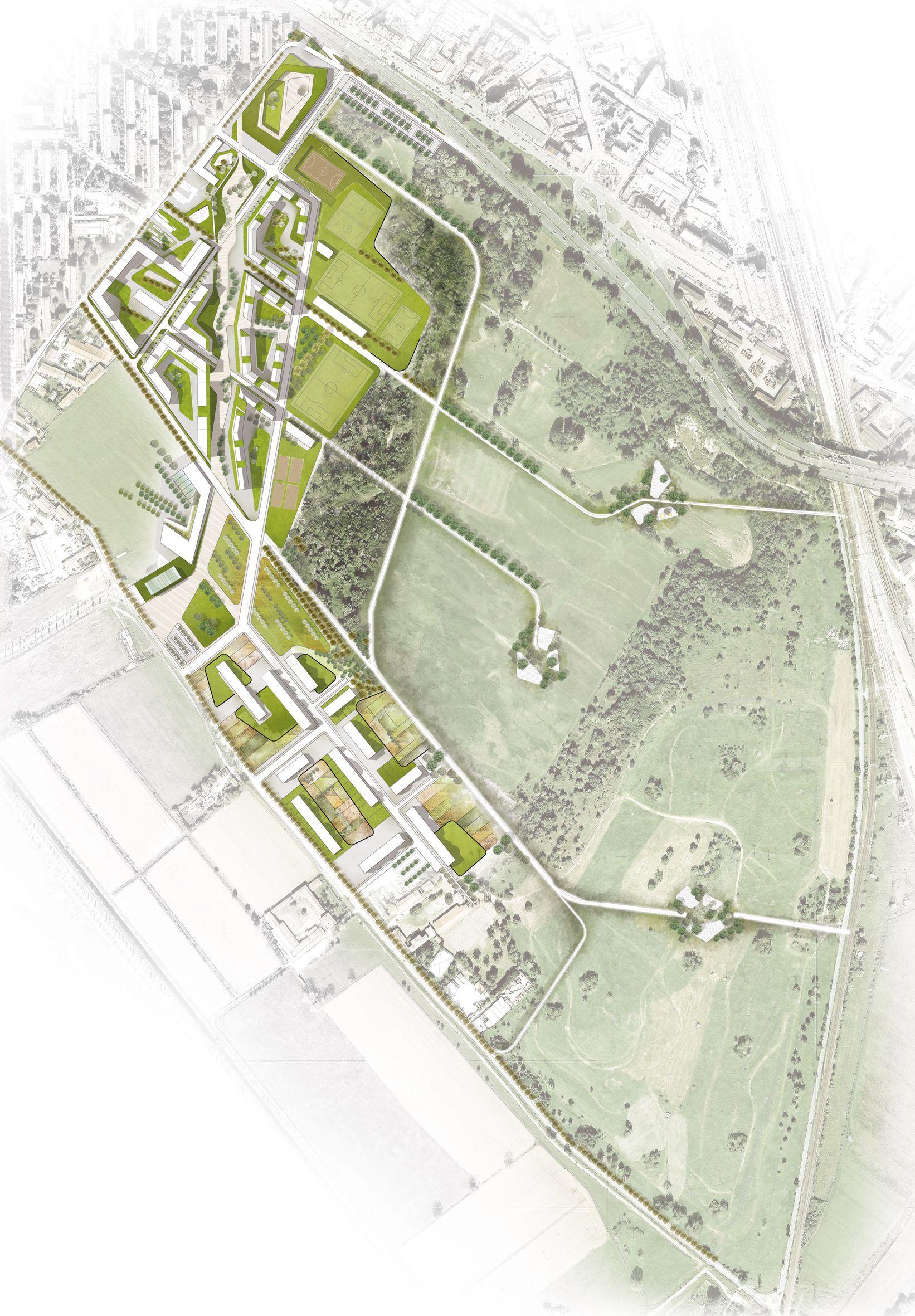 Europan 12 milano maria vittoria mastella laura mazzei for Bc landscape architects