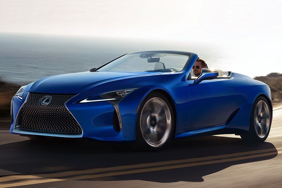 Lexus Puts the Top Down with LC Convertible Lexus lc