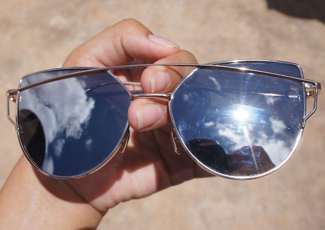 cc86f5de73692 aliexpress sunglasses haul silver mirror cat eye
