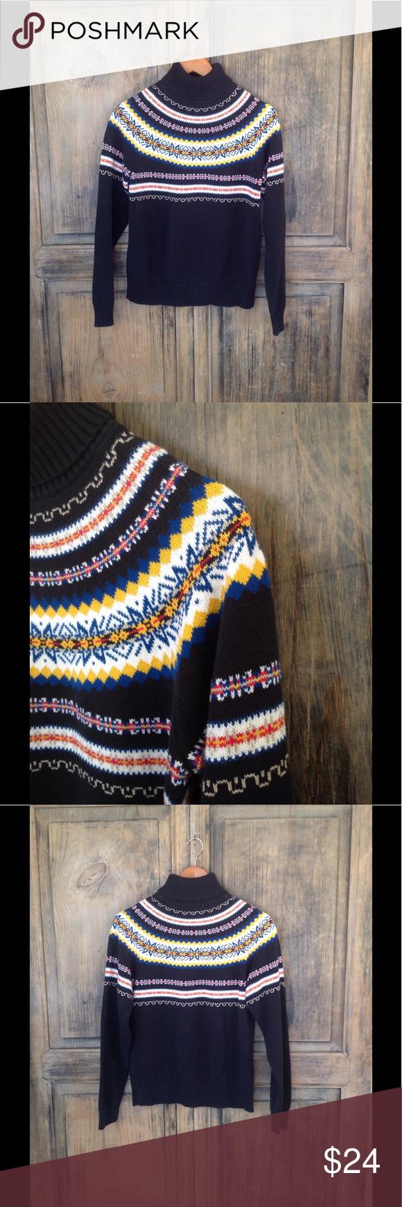 Size Small. Cool vntg. Pendleton fair isle sweater | Fair isles ...