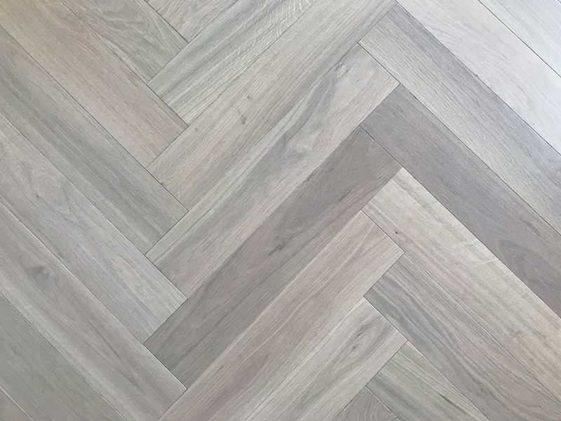 Pale Parquet Wood Flooring Is A Really Hot Look Right Now