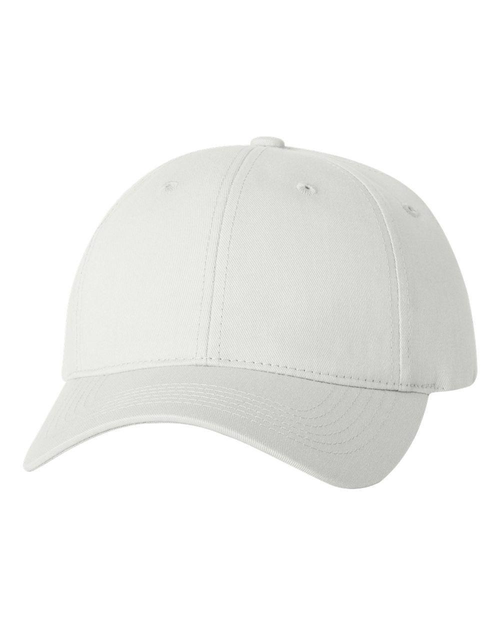 Sportsman - Twill Cap with Velcro Closure - 2260 White