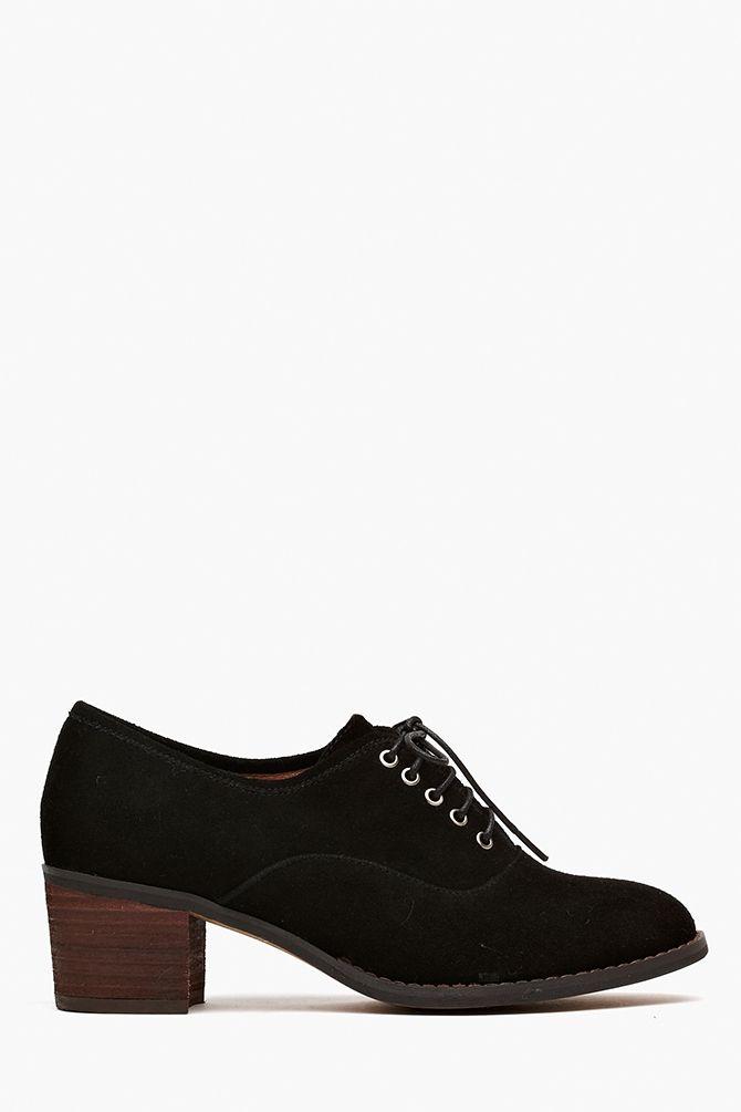 Ernie Oxford - Black Suede   Shoes