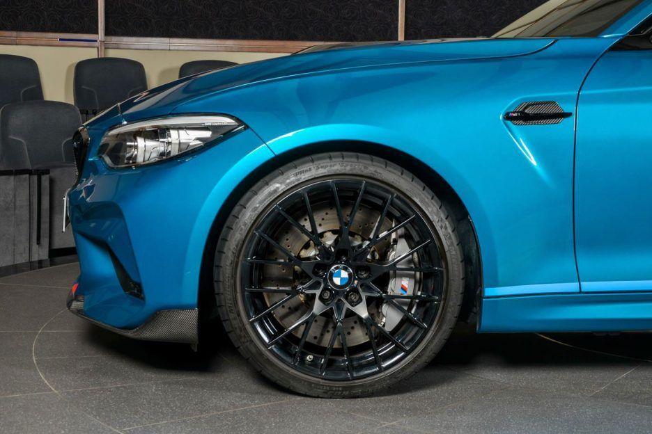 2019 Bmw Abu Dhabi Motors M2 Competition Black M Performance Wheels