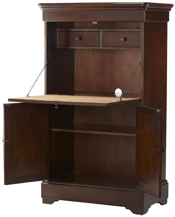 Louis Philippe Secretary Desk Homedecorators