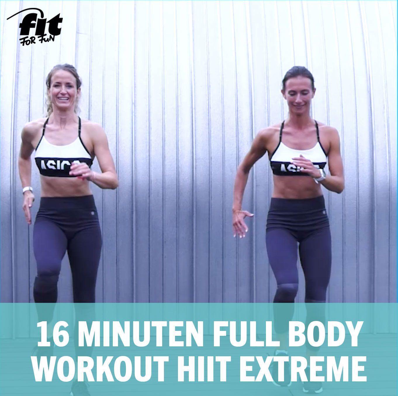 Bist du bereit für ein HIIT-Workout, das deine Muskeln zum Brennen und deinen Stoffwechsel so richti...