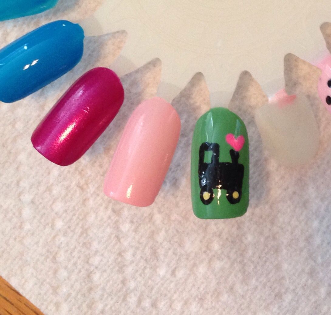 john deere | my nail art | Pinterest