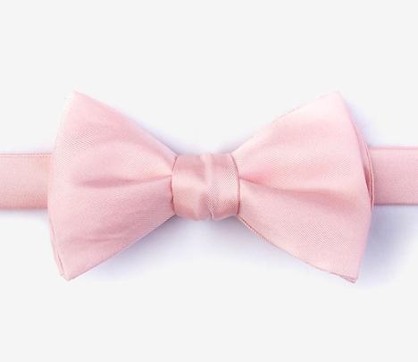 Pink Bowtie Pink Bow Tie Pink Fashion