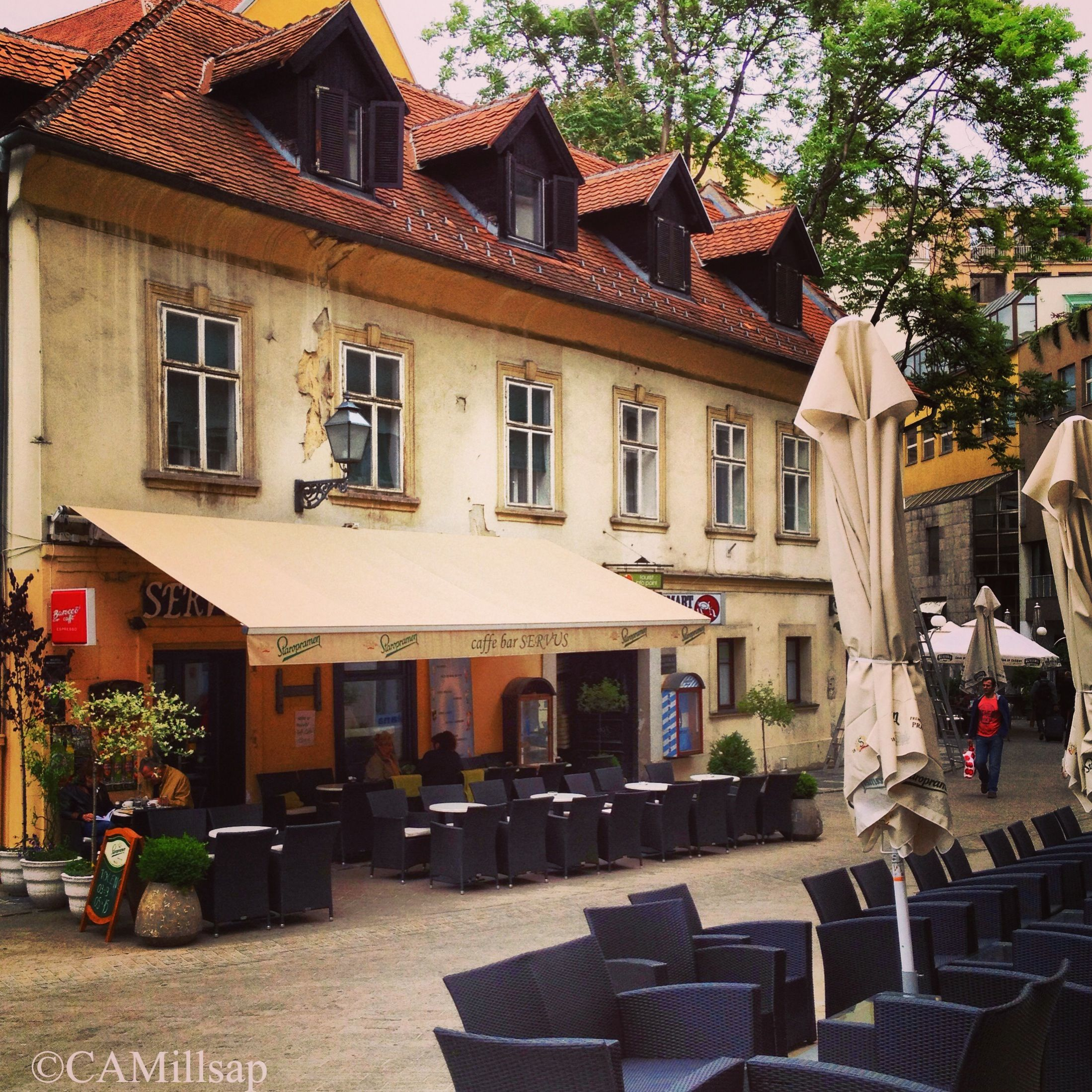 Coffee Culture Rules In Zagreb Sidewalk Cafes Are Popular Spots For Those Who Want To Sit And Sip The Afternoon Away Croatia Tours Croatia Zagreb