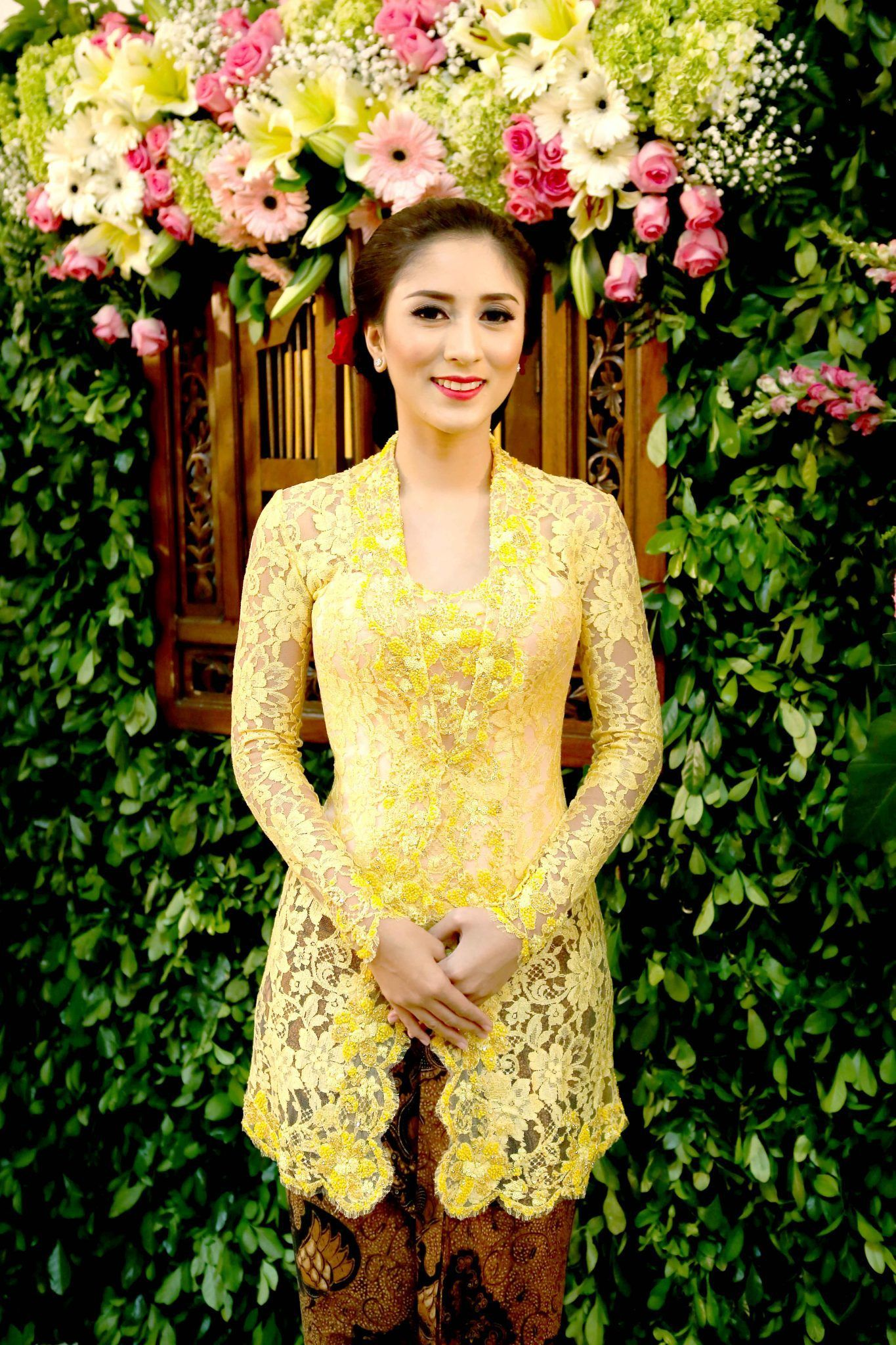 Acara Lamaran Adat Lampung ala Tantia dan Elno