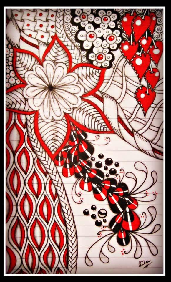 Pin by Balas Gabriela on ZENTANGLE ART | Zentangle, Zentangle