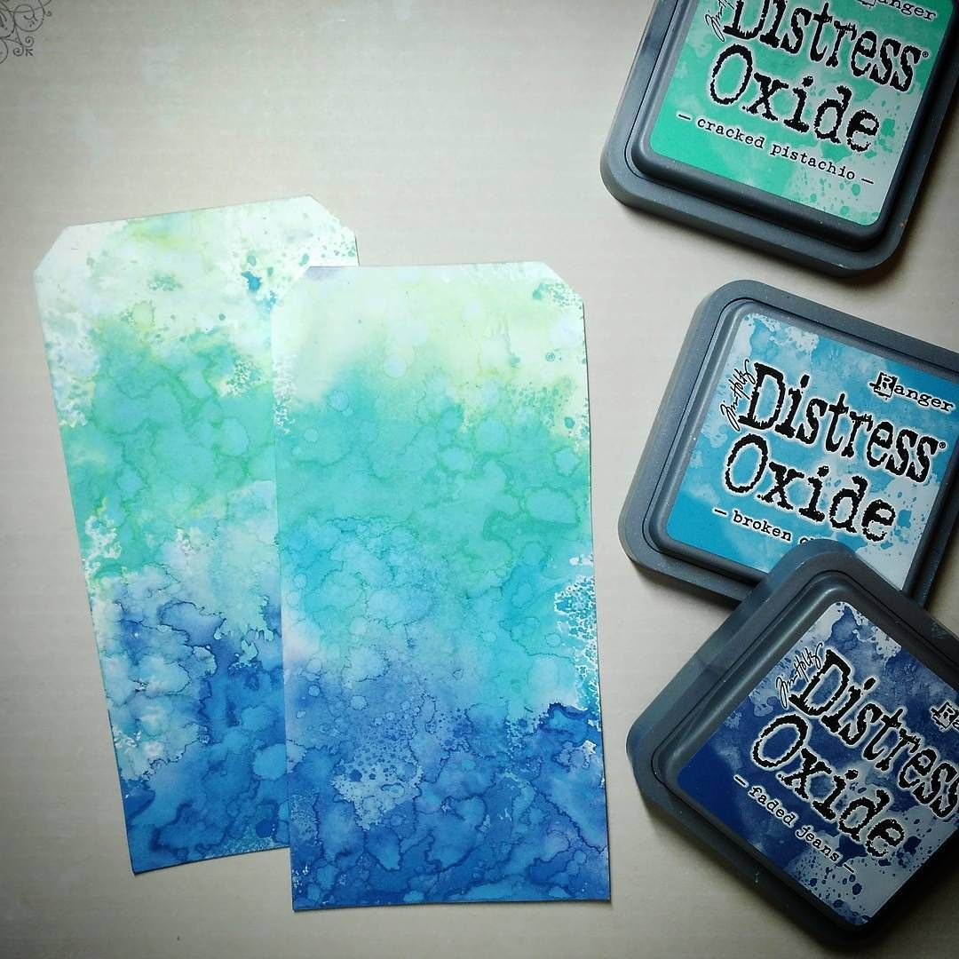 Tim Holtz Blue Broken China Distress Ink Marker