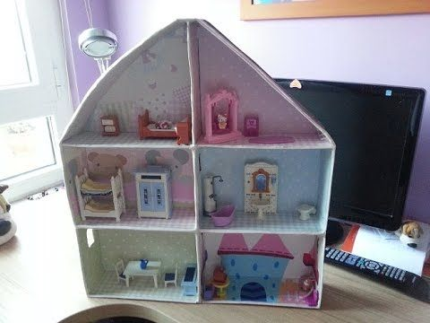 cmo hacer una casa de cartn para nios tutorial diy playhouse casita de