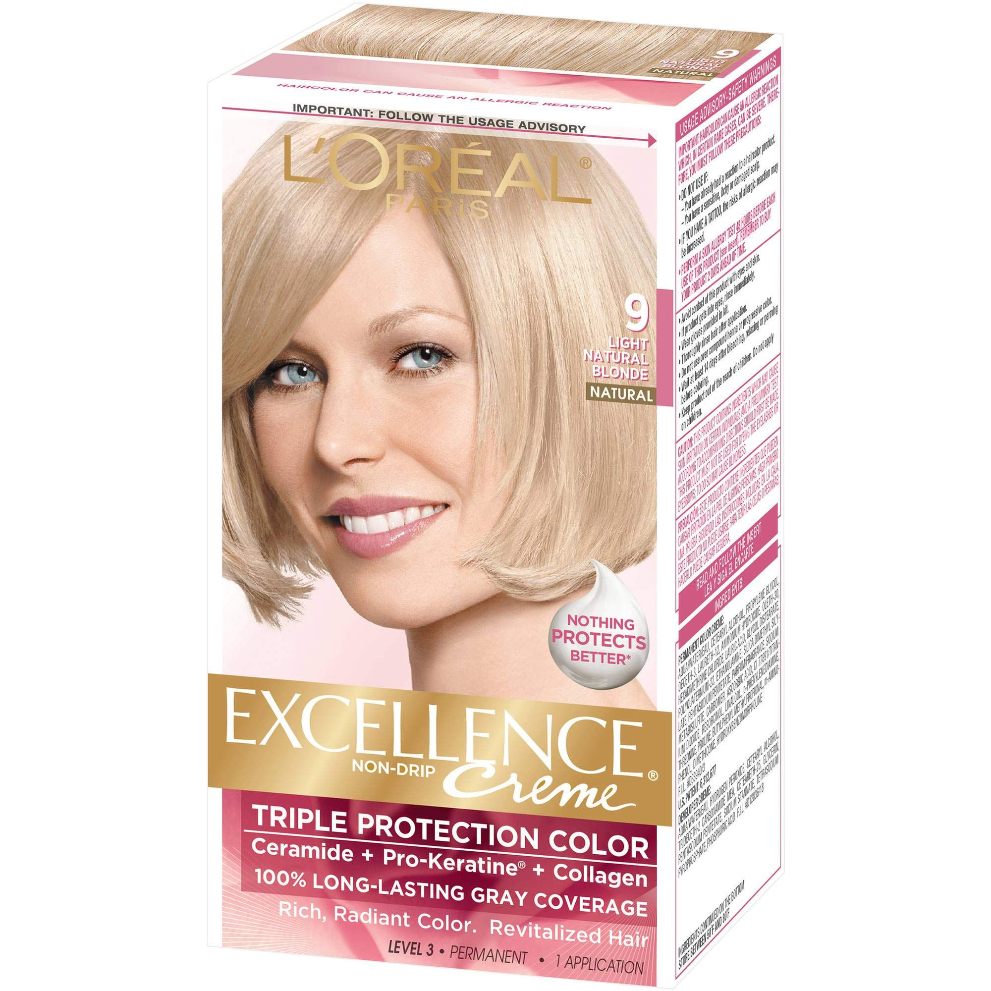 Loreal Excellence Haircolor Natural Blonde In 2020 Hair Color Dyed Hair Men Natural Blondes