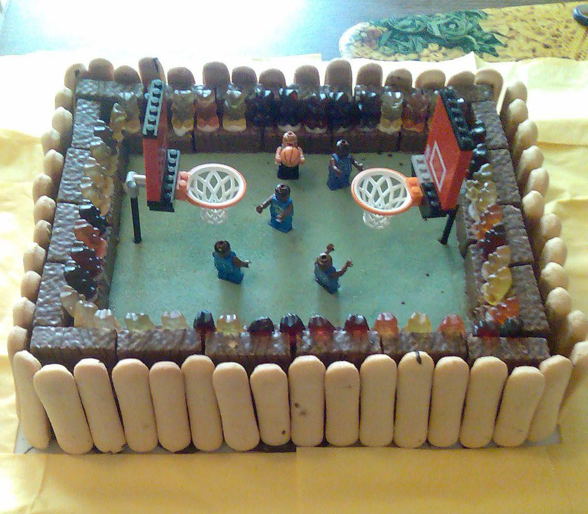 Cute Basketball Kuchen Bilder NBA Kuchen Bild