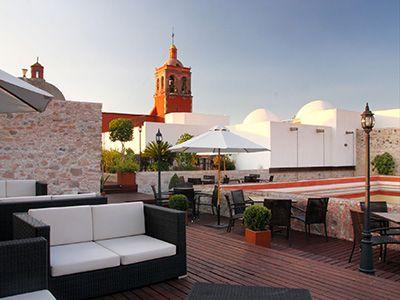 Location Hotel Casona De La Republica In Queretaro Downtown