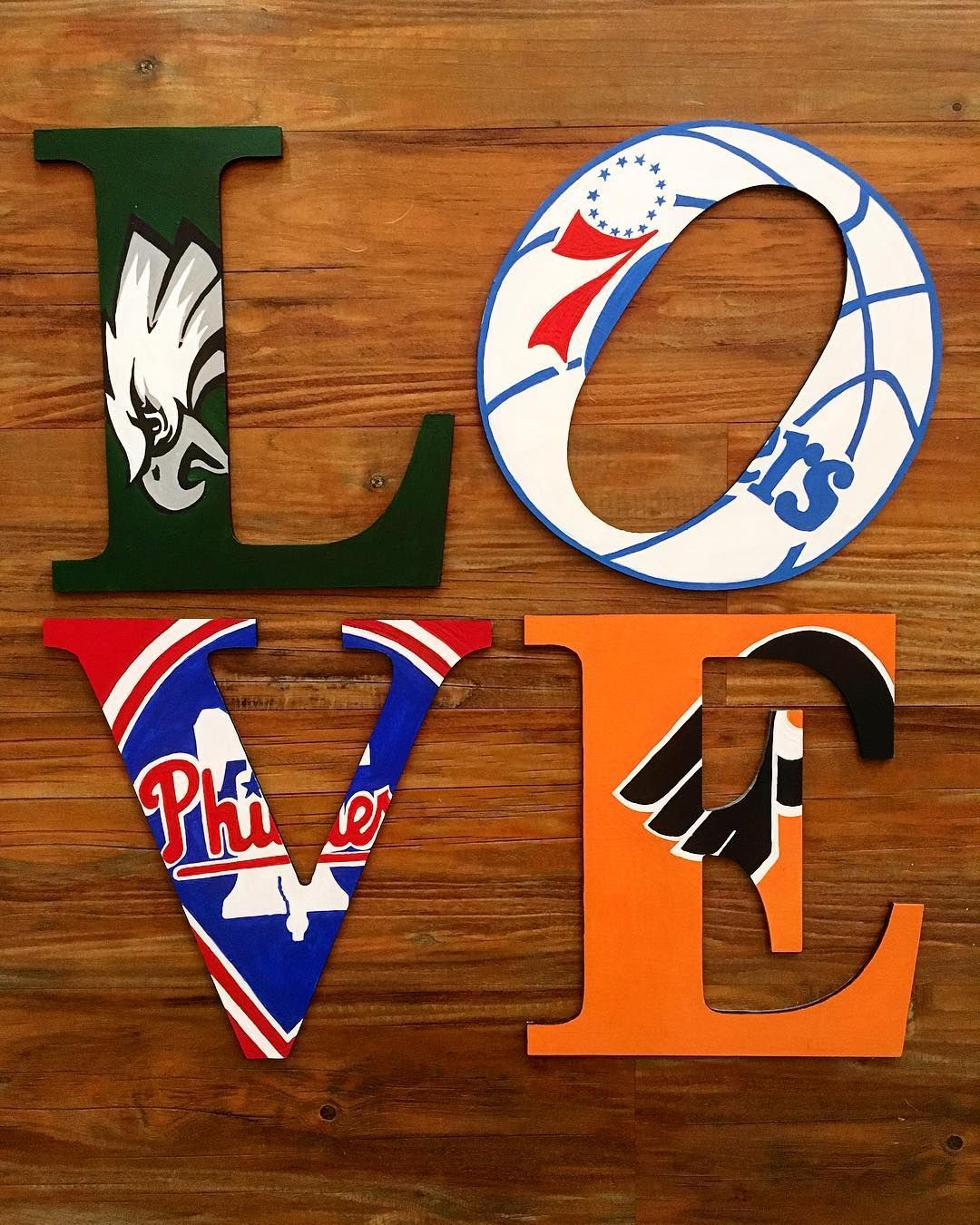 Ryan Rodden on Sports man cave, Wooden letters, Football