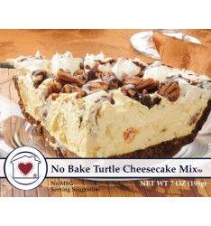 No Bake Turtle Cheesecake Mix