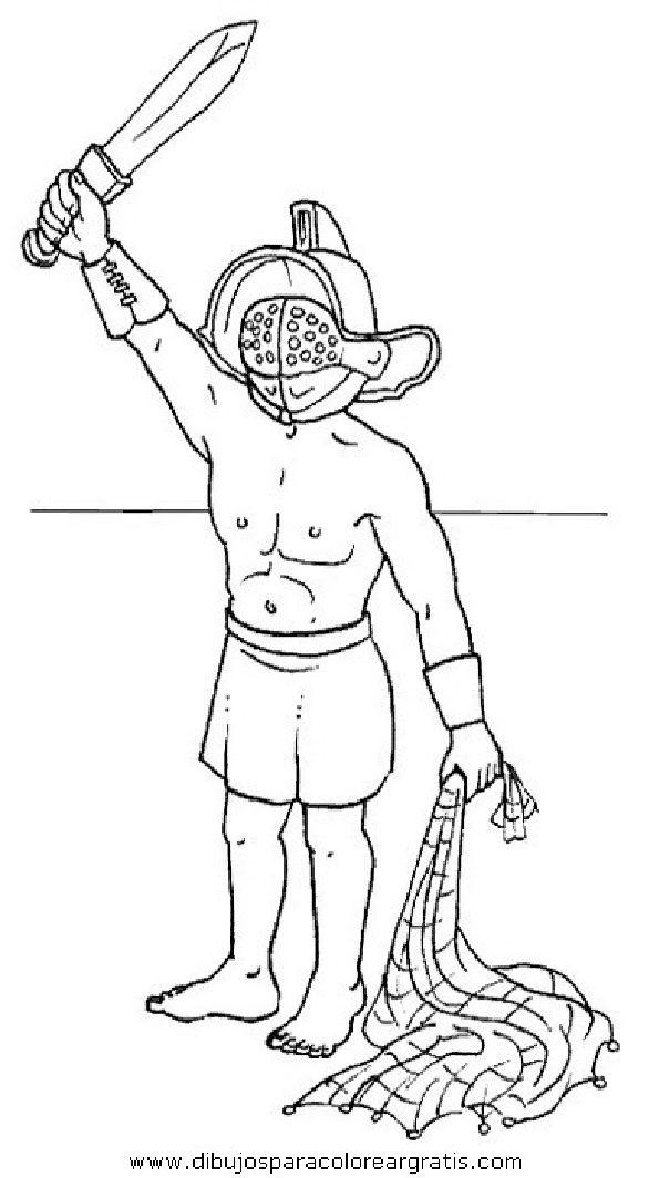 Aqui Podras Encontrar Imagenes Que Pueden Serte Utiles Para Tus Tareas Si No Encontraras La Que Buscas Pued Paginas Para Colorear Gladiadores Imperio Romano
