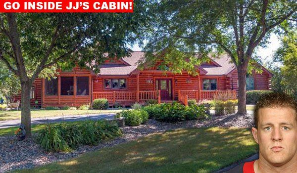 Take A Tour Inside J J Watt s Wisconsin Cabin
