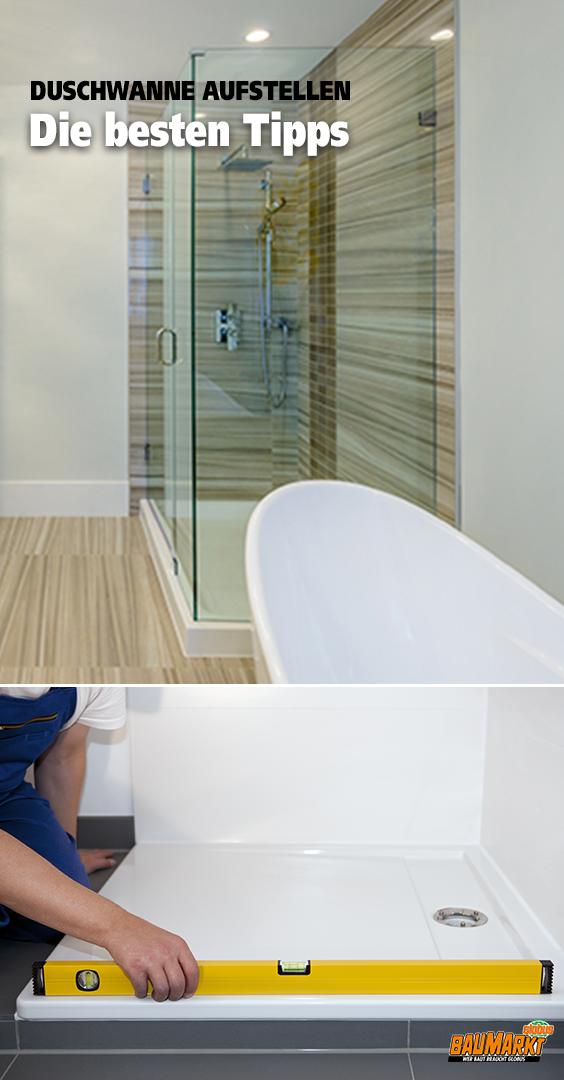 Die Dusche ist der Klassiker eines Badezimmers. Die Stufen