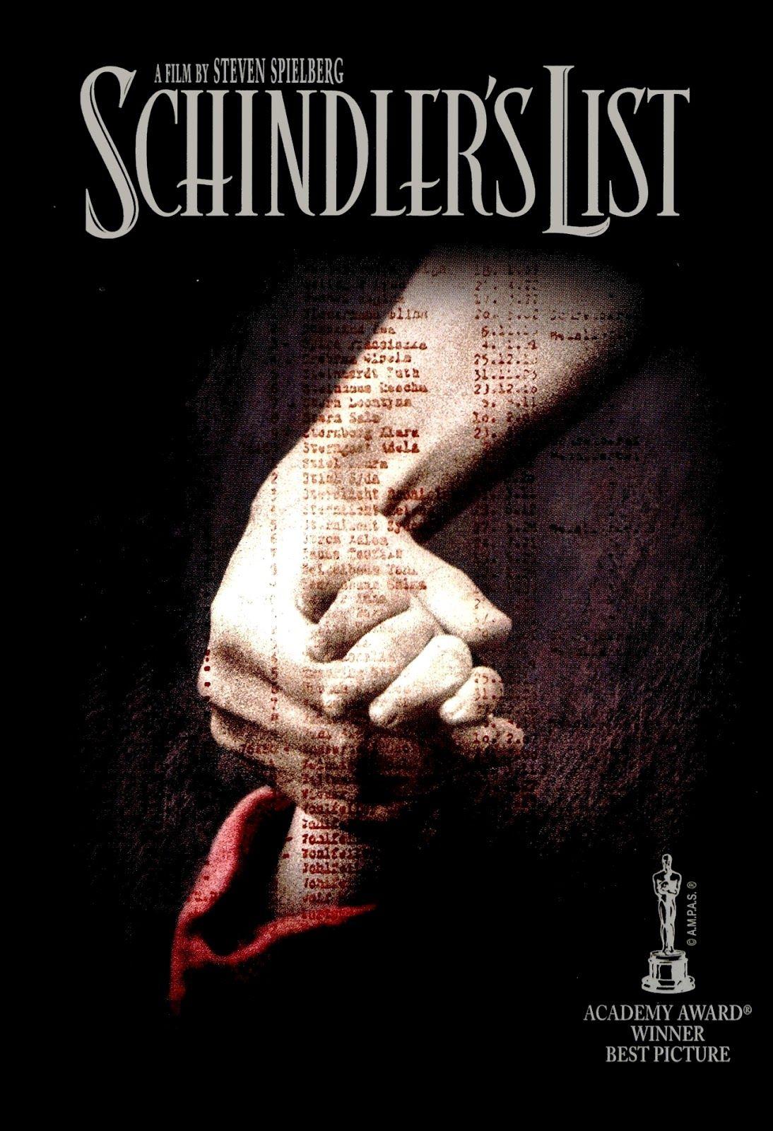 Schindler List Movie Poster